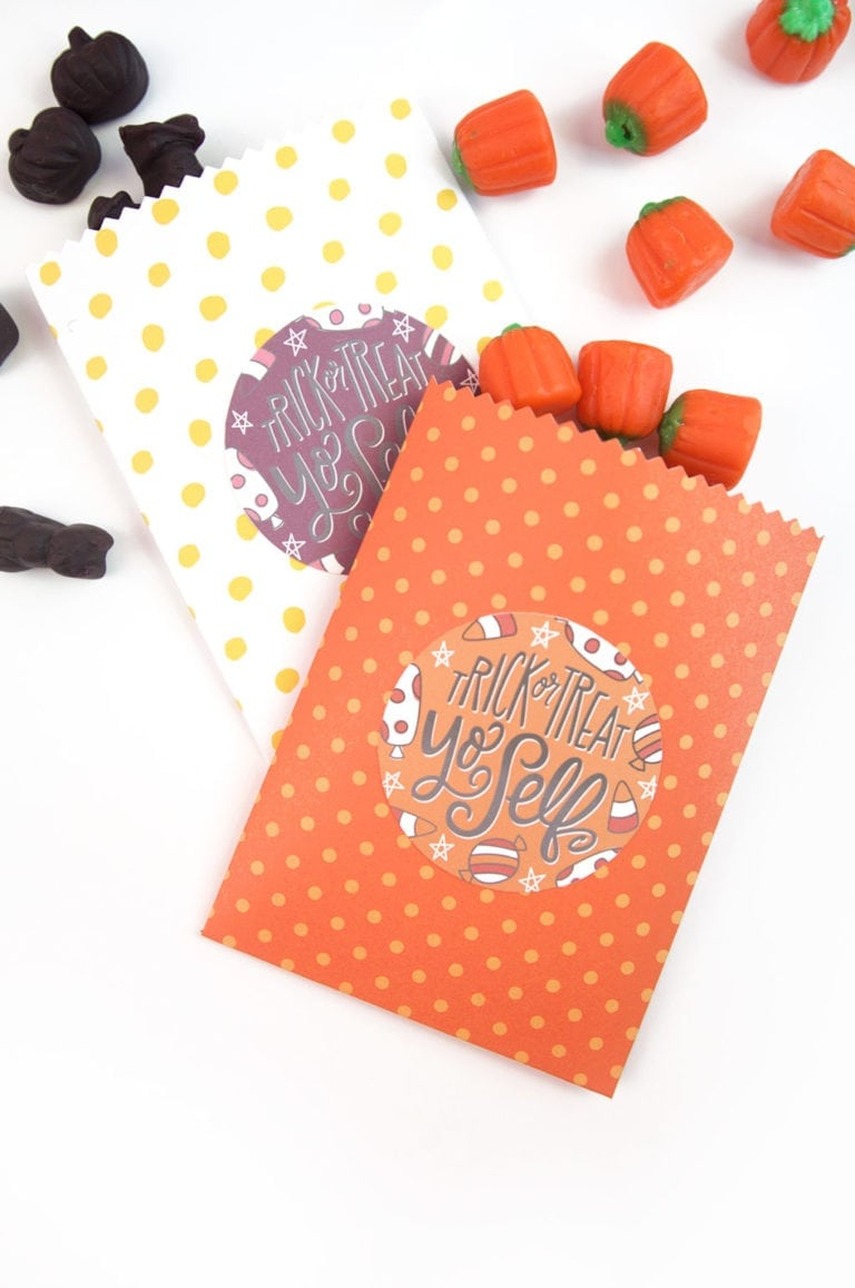 Easy Make Your Own Treatbags + Printables