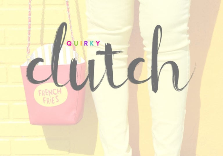 Damask Loves:: A Quirky Clutch