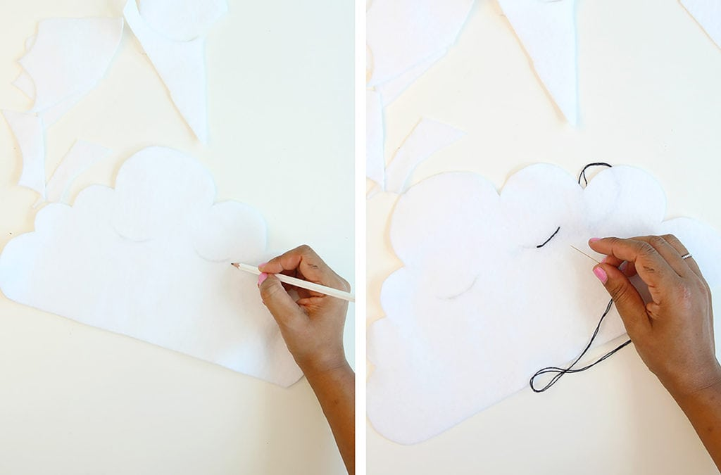 Clouds & Tassels Wall Decor | damask love