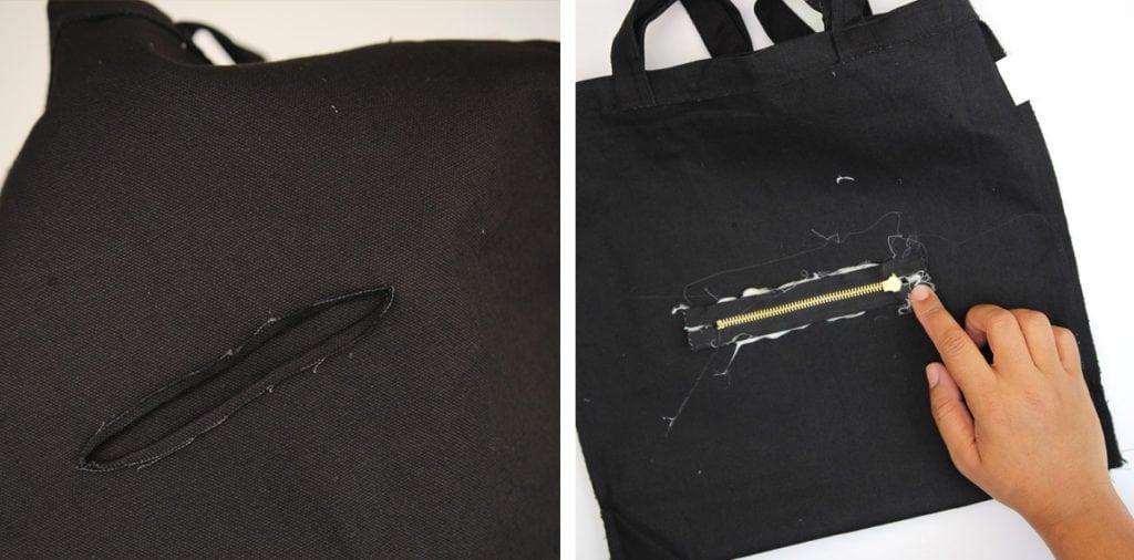 DIY Fendi Inspired Monster Tote Bag | damask love