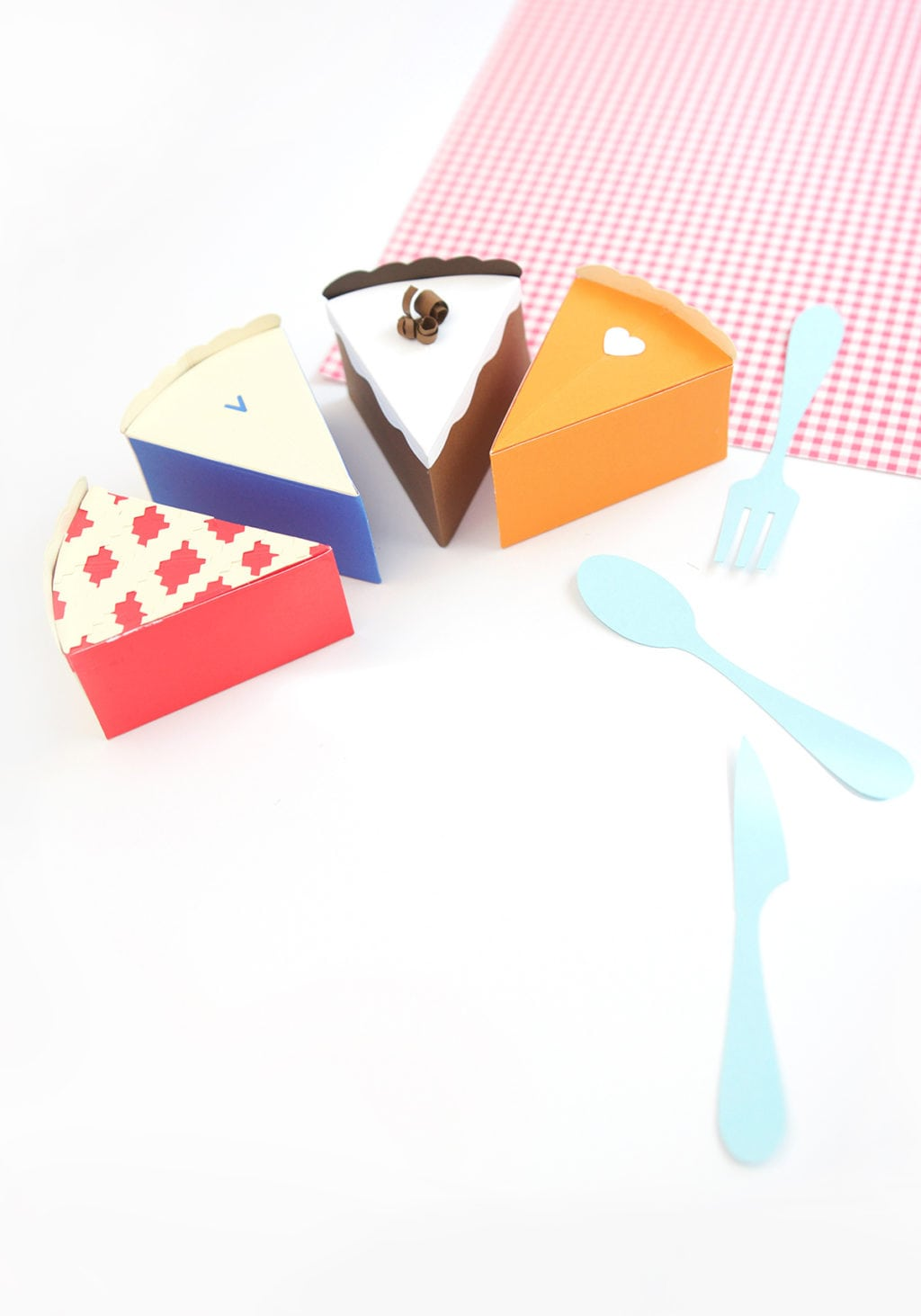 Paper Pie Treat Boxes | damask love