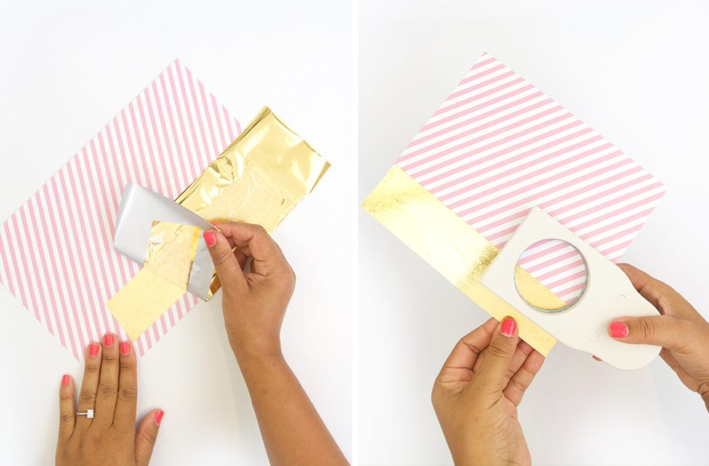 Gold Foiled Cocoa Kit with Minted | damask love