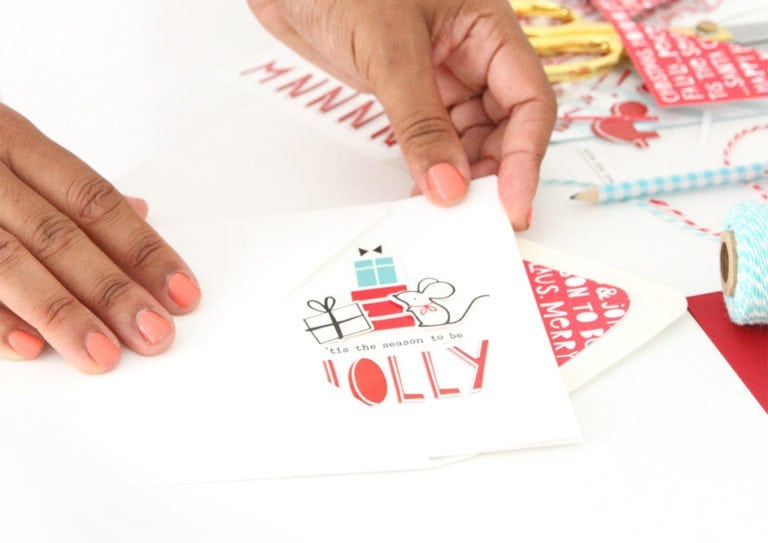 Make Your Own Holiday Card Kit