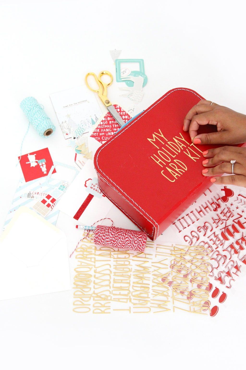 Make Your Own Holiday Card Kit | damask love