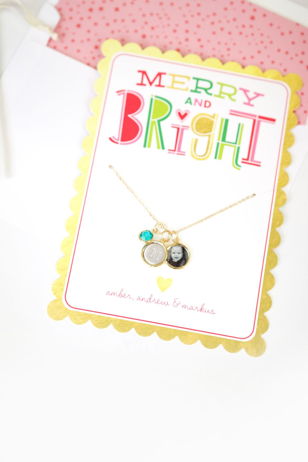 Custom Holiday Jewelry Gifts with Shutterfly   damask love