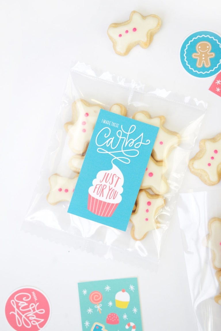 Fuse Tool Cookie Packaging + Free Punny Printables