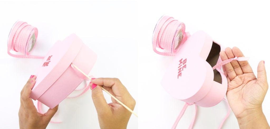 DIY Conversation Heart Bag