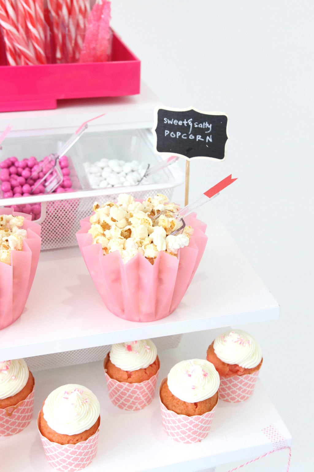 elfa Container Store Party Cart Inspiration