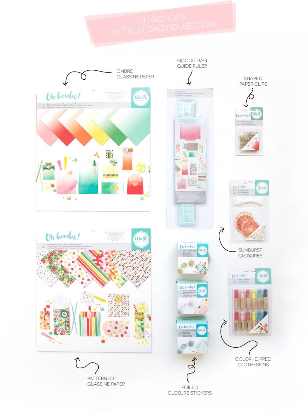 We R Memory Keepers Oh Goodie Gift Bag Guide | damask love