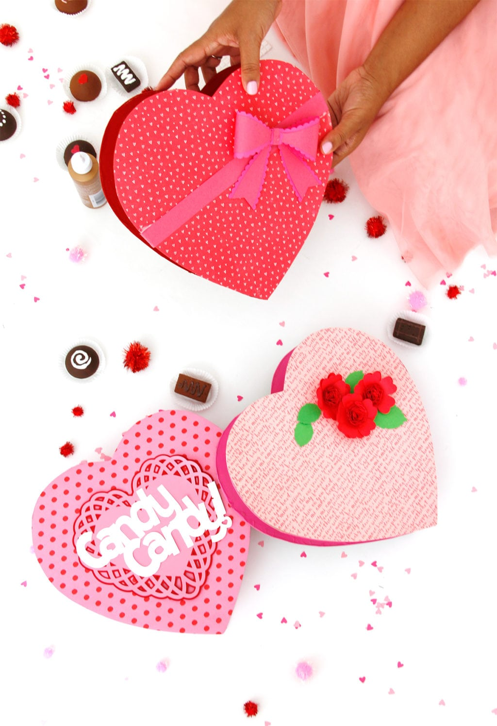 DIY Valentine's Day Box of Chocolates