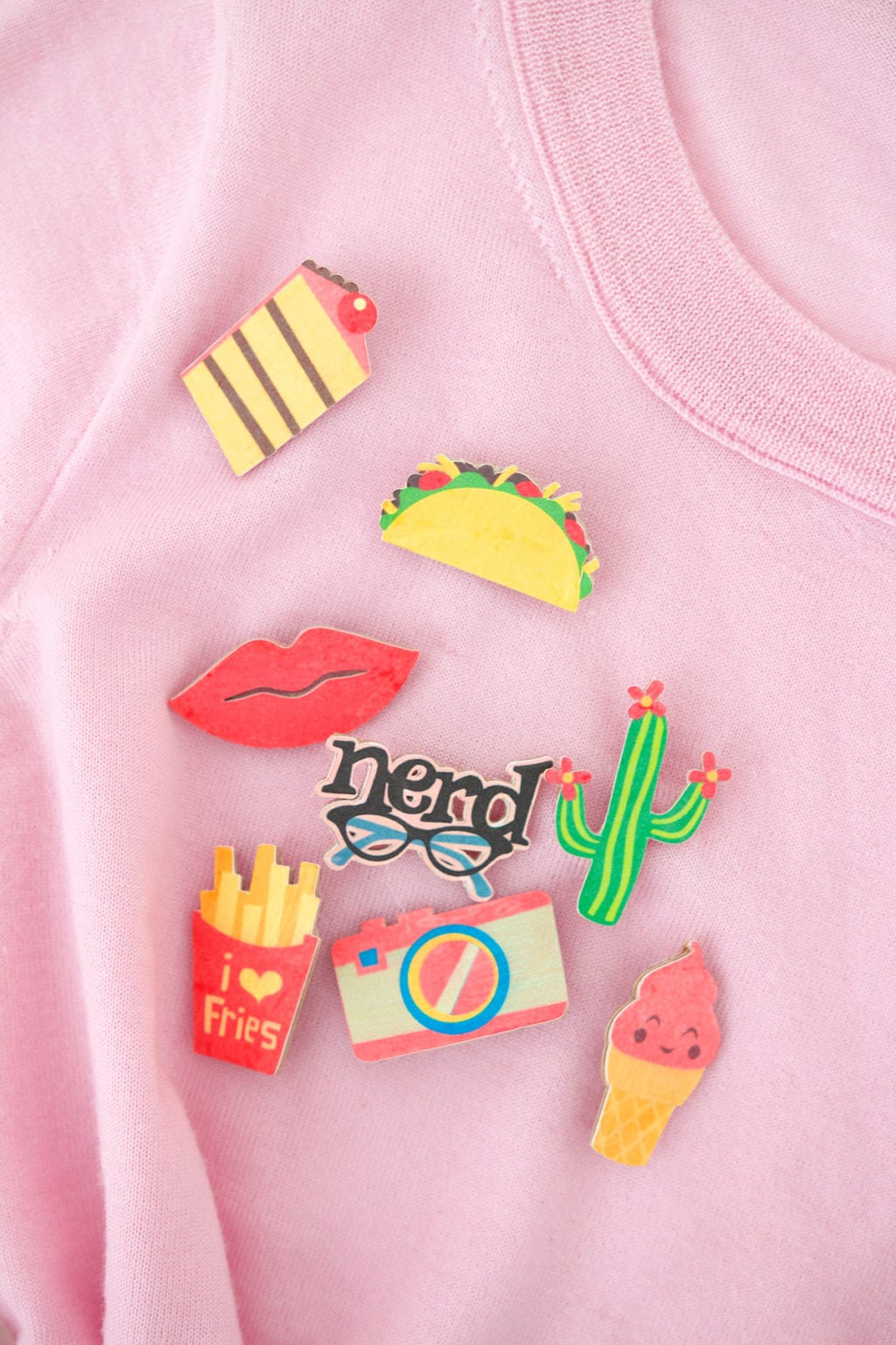 DIY Flair Pins