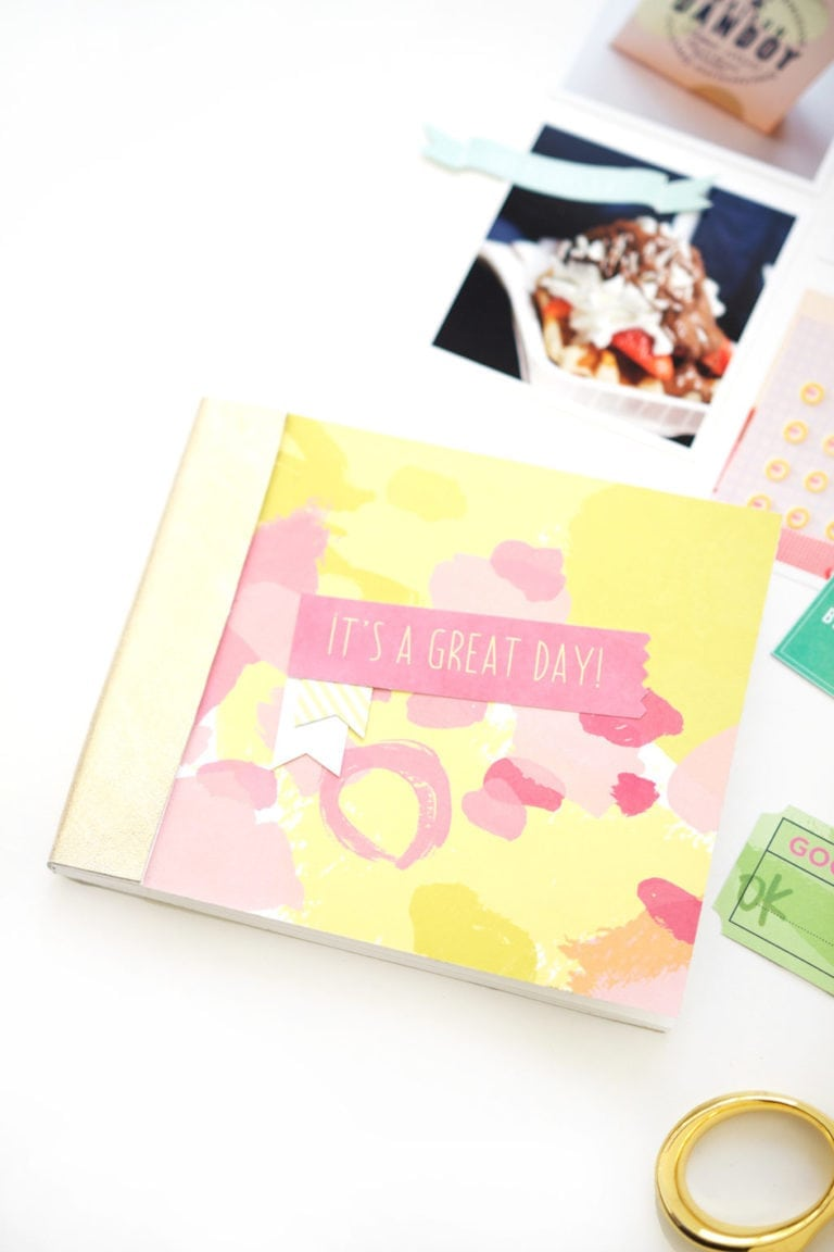 Easy DIY Photo Journal