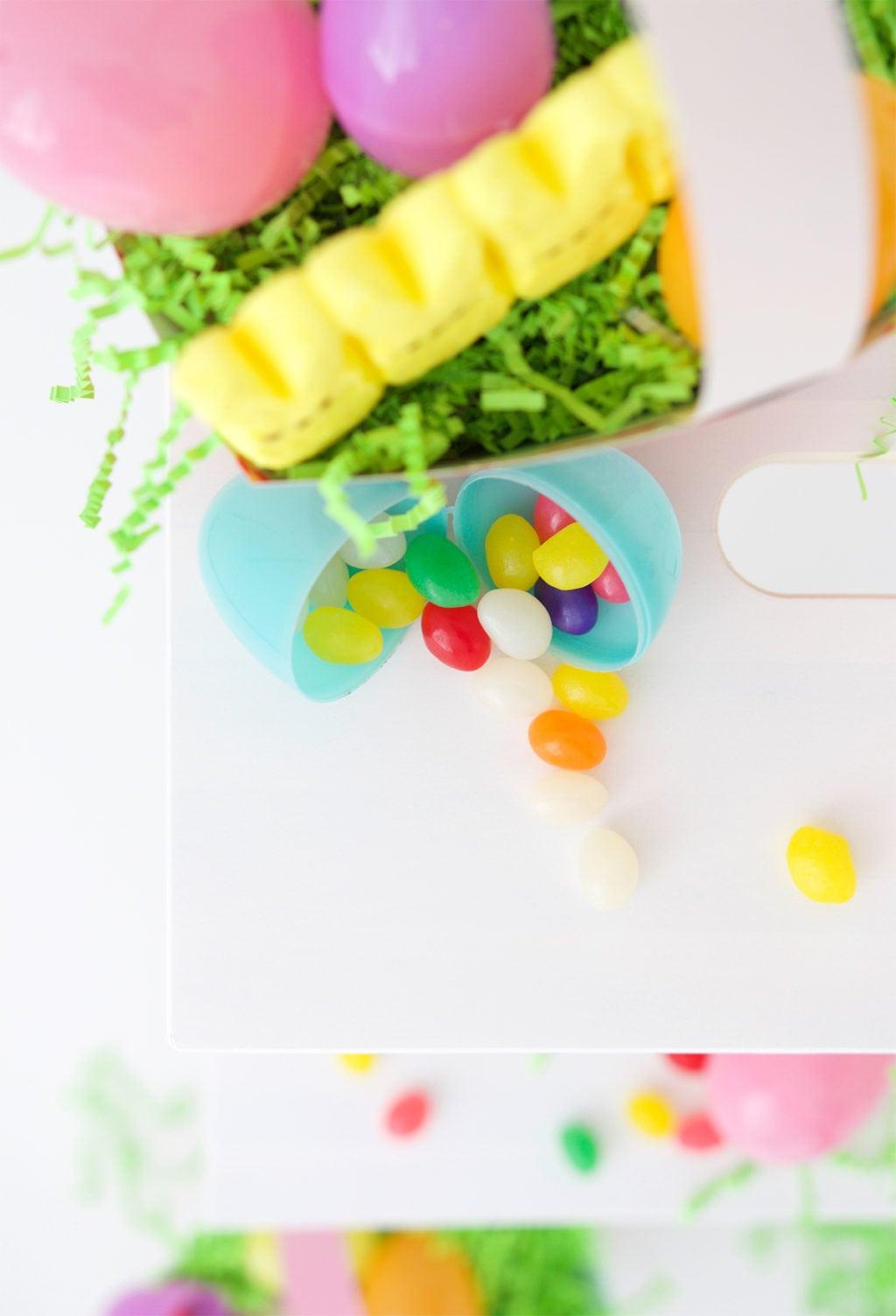 Easy Paper Easter Basket