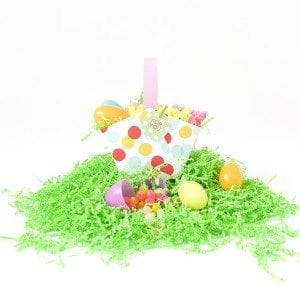 Easy Paper Easter Baskets
