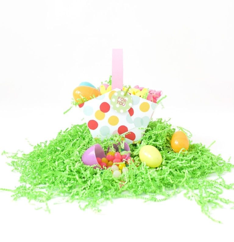Super Duper Easy Paper Easter Baskets