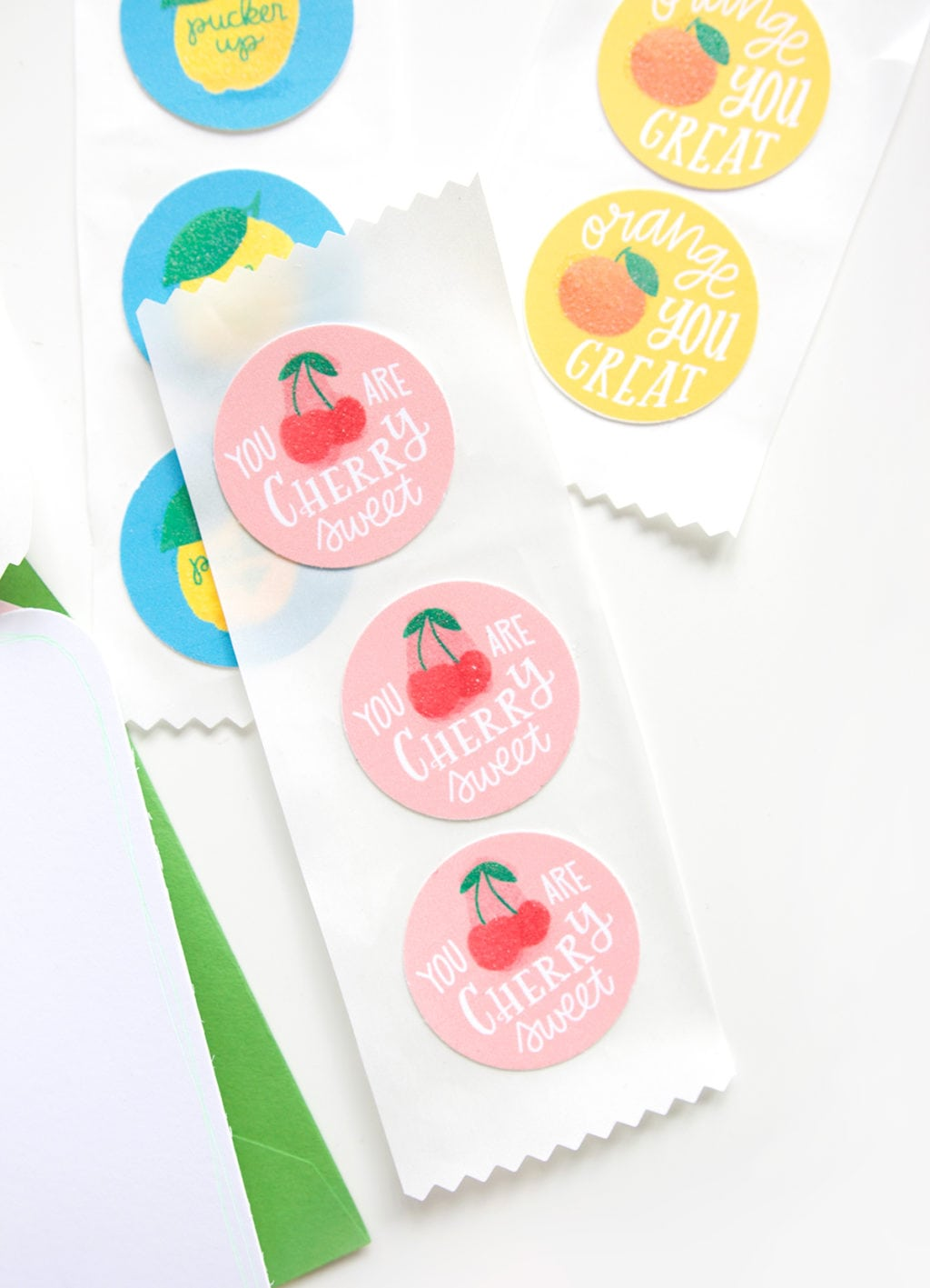 DIY Printable Scratch and Sniff Stickers | damask love