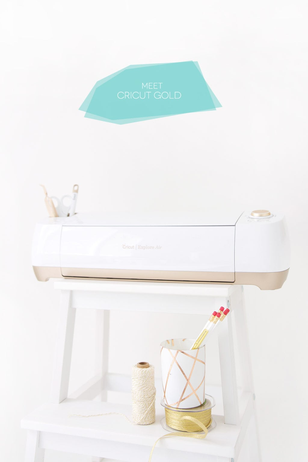 Learn about the new Cricut Explore Gold Projects that are exclusively designed my some of your favorite bloggers and designers