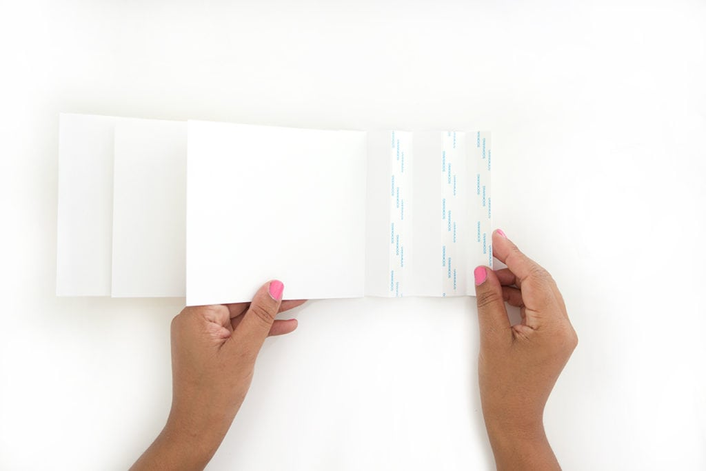 With paper and a few creative folds, you can create an easy DIY Photo Journal perfect for scrabooking and memory keeping.