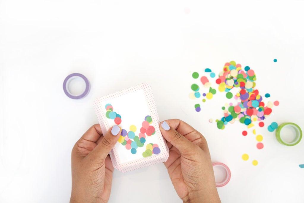 Easy Shaker Cards
