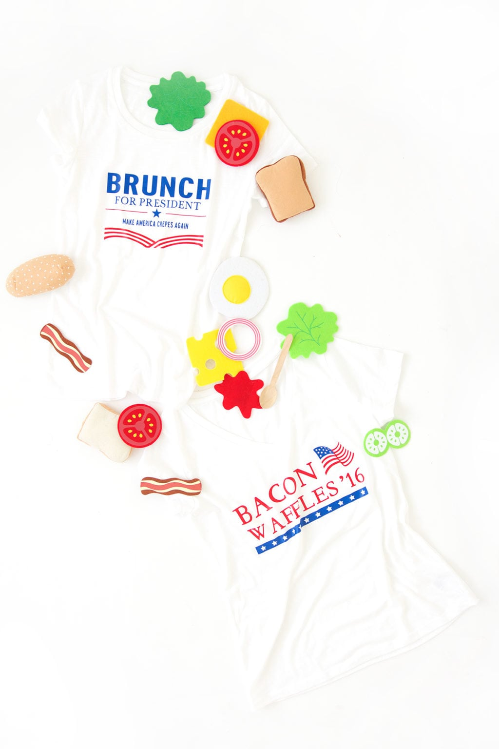 Elections are important but sometimes it's okay to take a step back and have a little fun. Create your own DIY funny election tee shirts with the Cricut Explore.