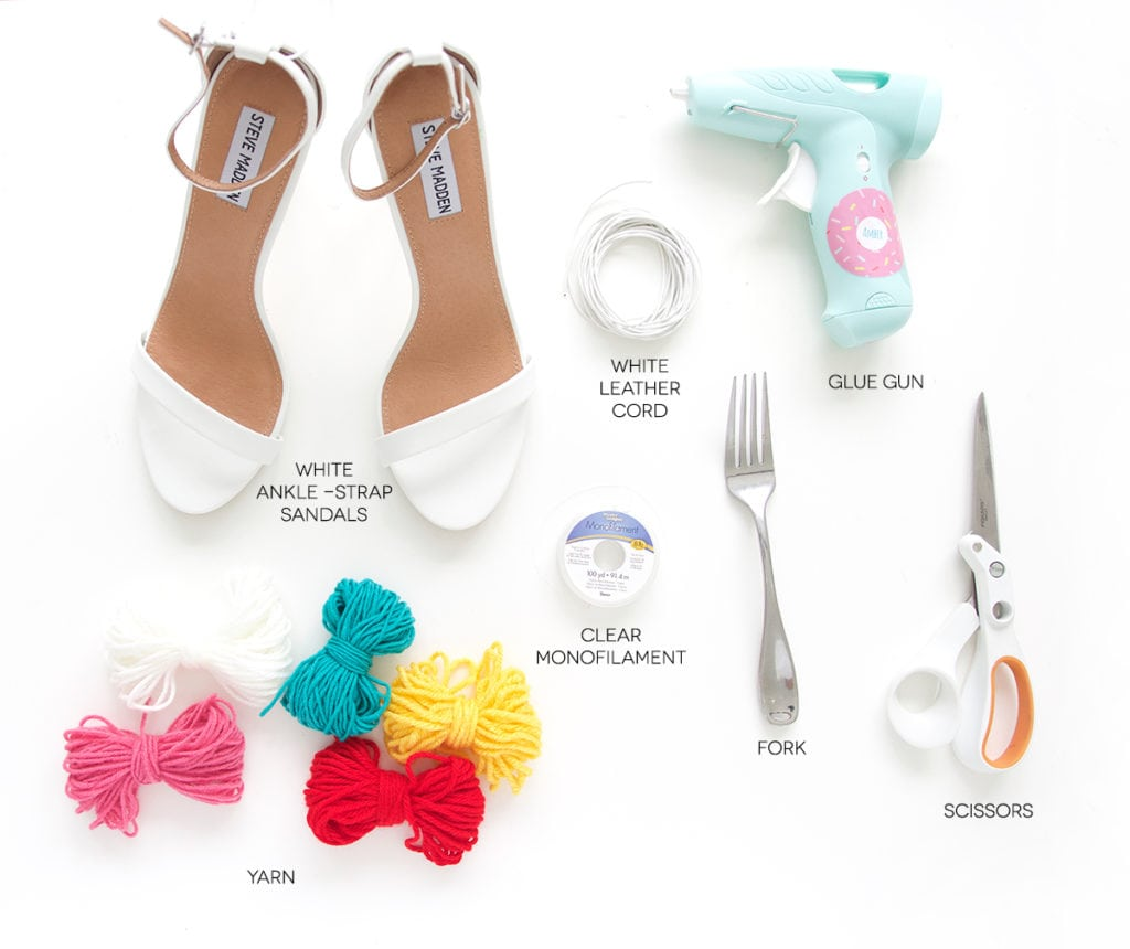 recreate this seasons hottest footwear by making your own DIY pom pom sandals. They will turn heads and save you a ton of money!