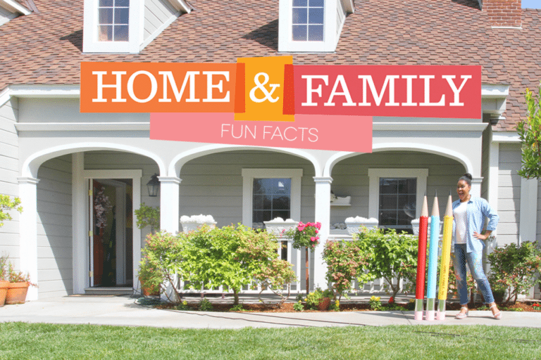 Fun Facts about Hallmark's Home & Family