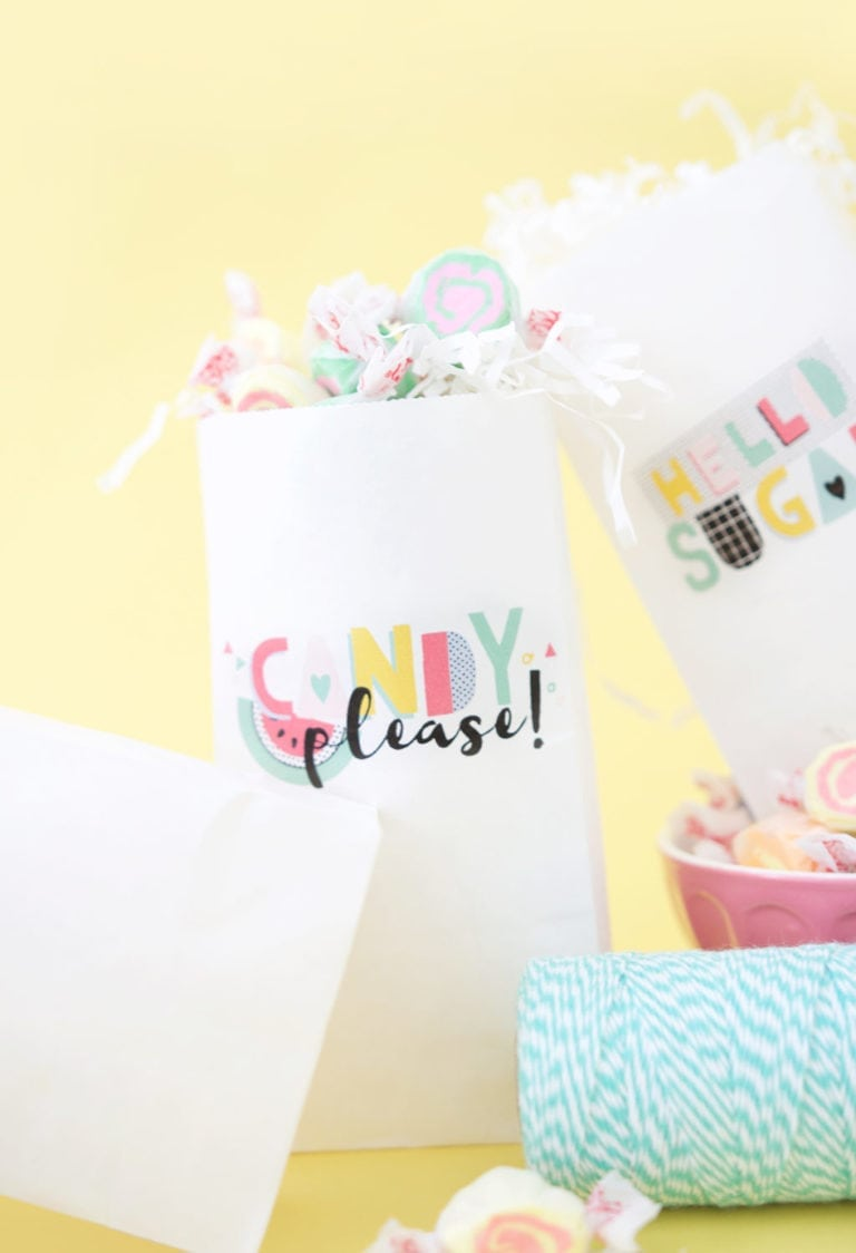 Print Your Own Treat Bags