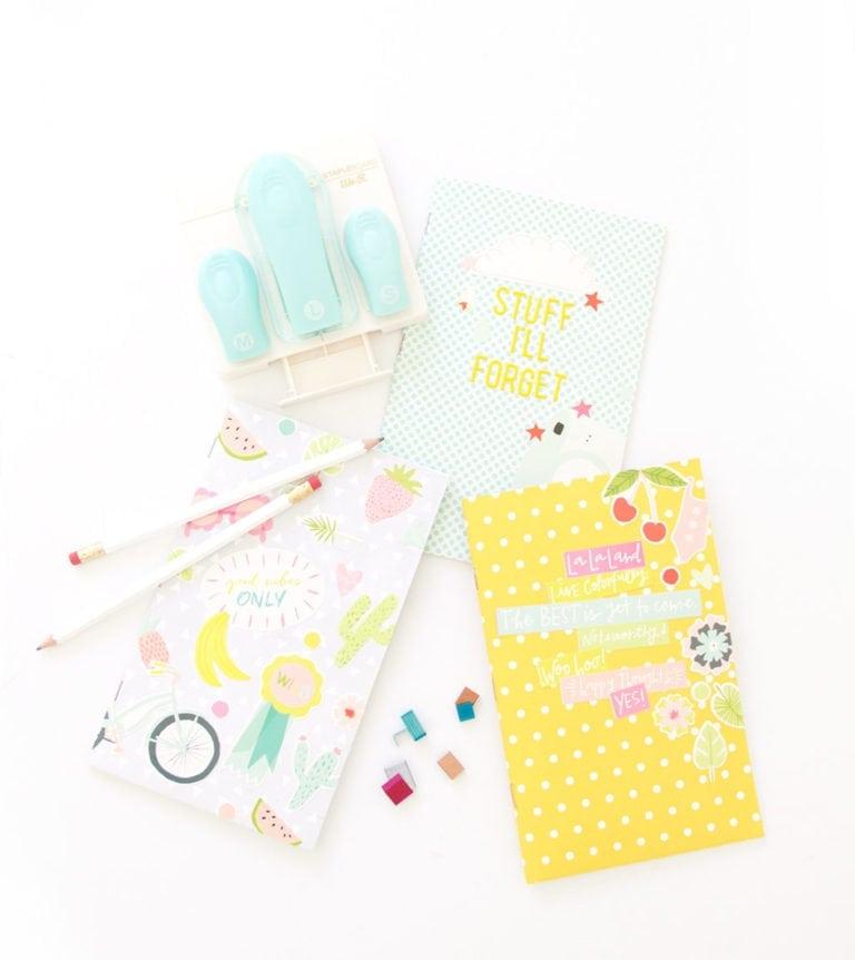 Easy Stapled Notebooks