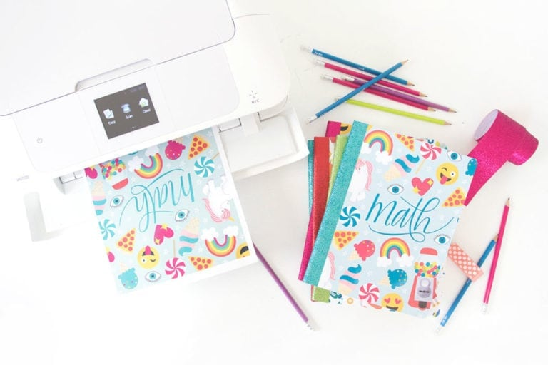Printable Composition Book Covers