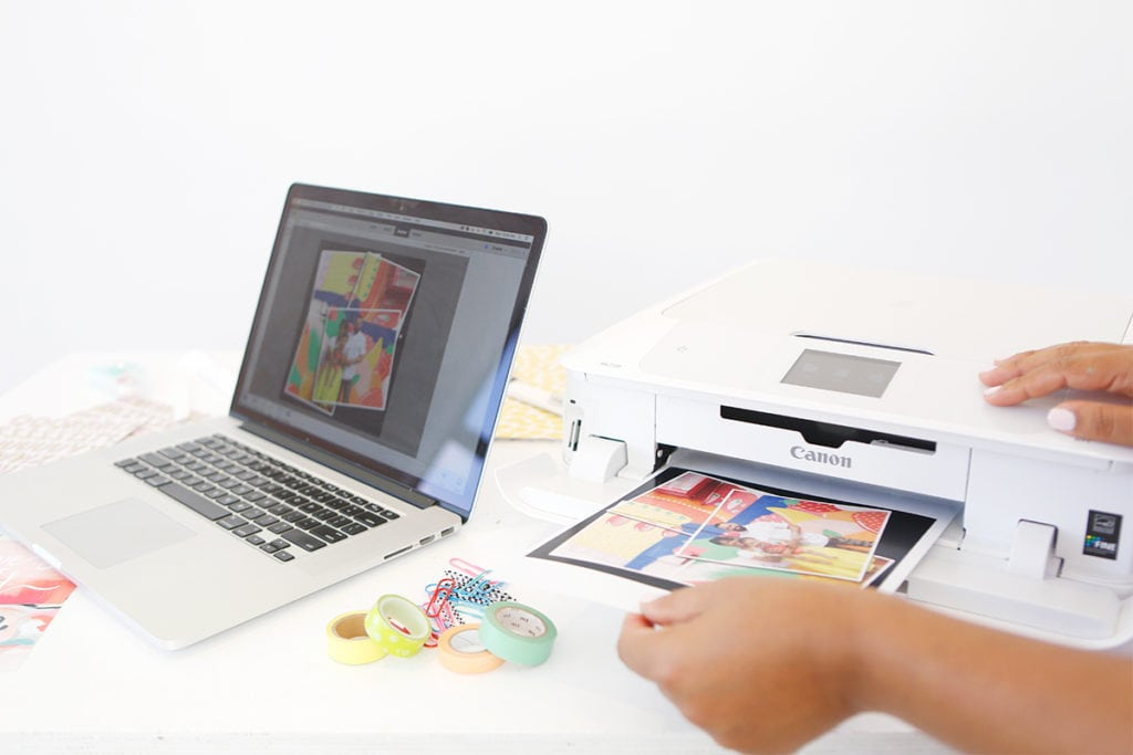 How to make scrapbook easy - It S Easy To Create A Diy Scrapbook With Basic Supplies And Photos Edited With The New
