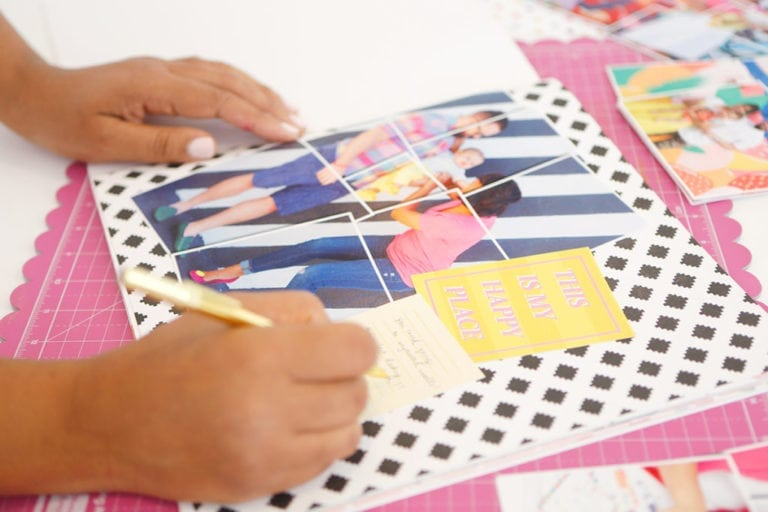 Make an Easy DIY Scrapbook