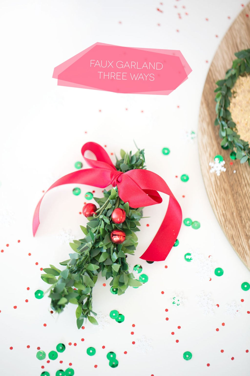 Three Ways to Use Faux Garland | damask love
