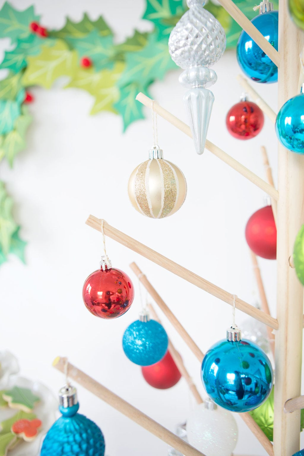 Lazy Susan Christmas Tree | damask love