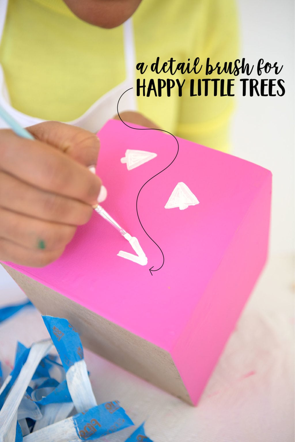 DIY Painted Gift Boxes   damask love
