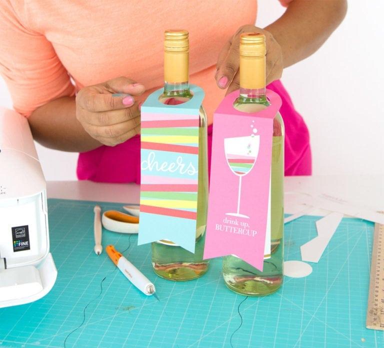DIY Printable Wine Tags