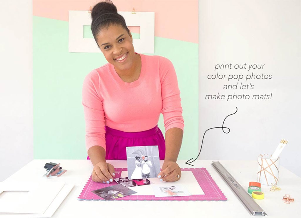 How to Mat Your Own Photos | damask love