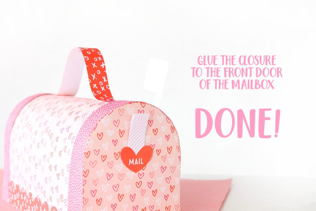 CLICK HERE FOR YOUR FREE 11X17 PRINTABLE VALENTINEu0027S DAY MAILBOX TEMPLATE