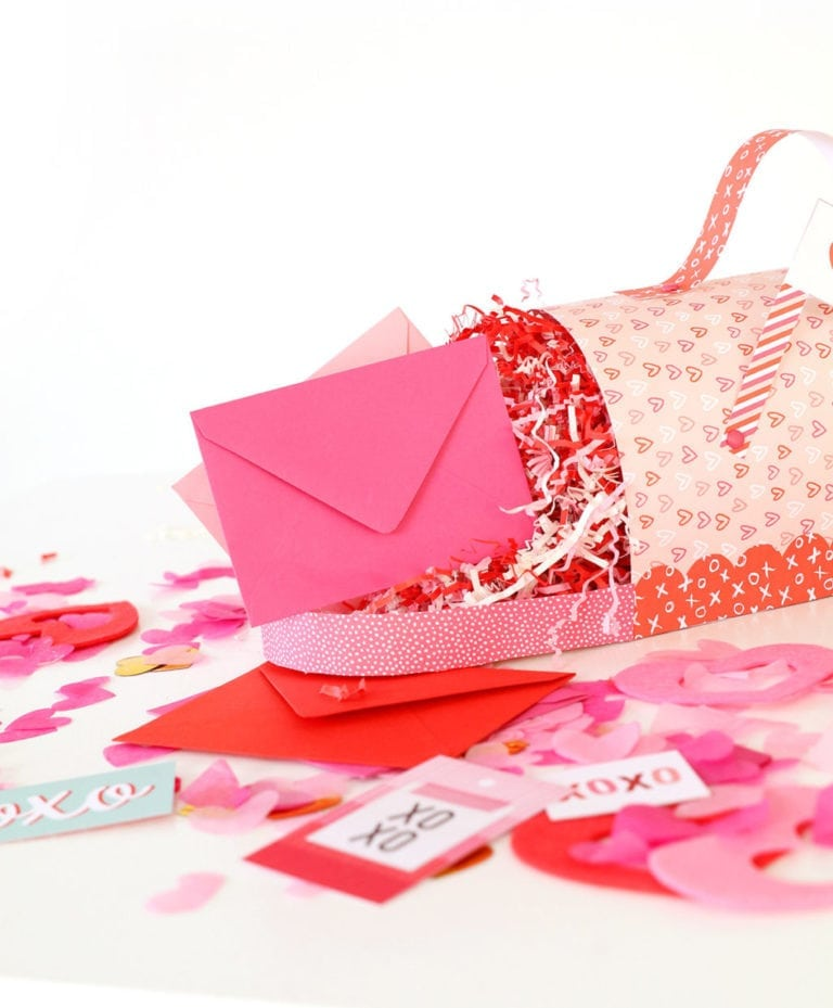 Printable Valentine's Day Mailbox