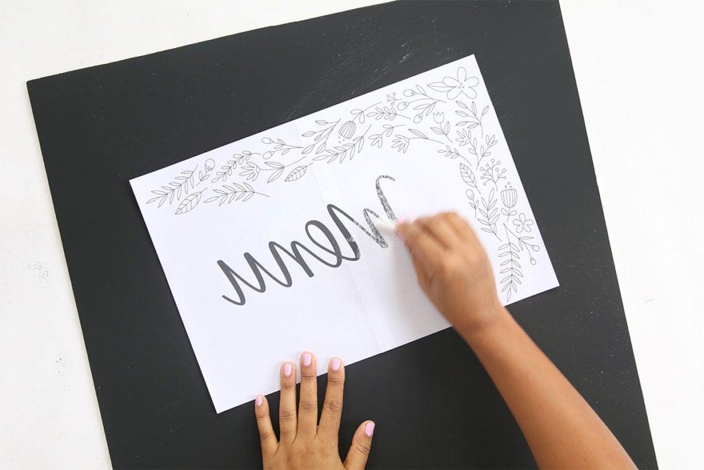 DIY Perfect Chalkboard Lettering | damask love