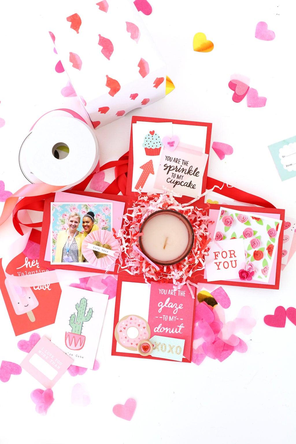 diy valentine s day surprise box damask love