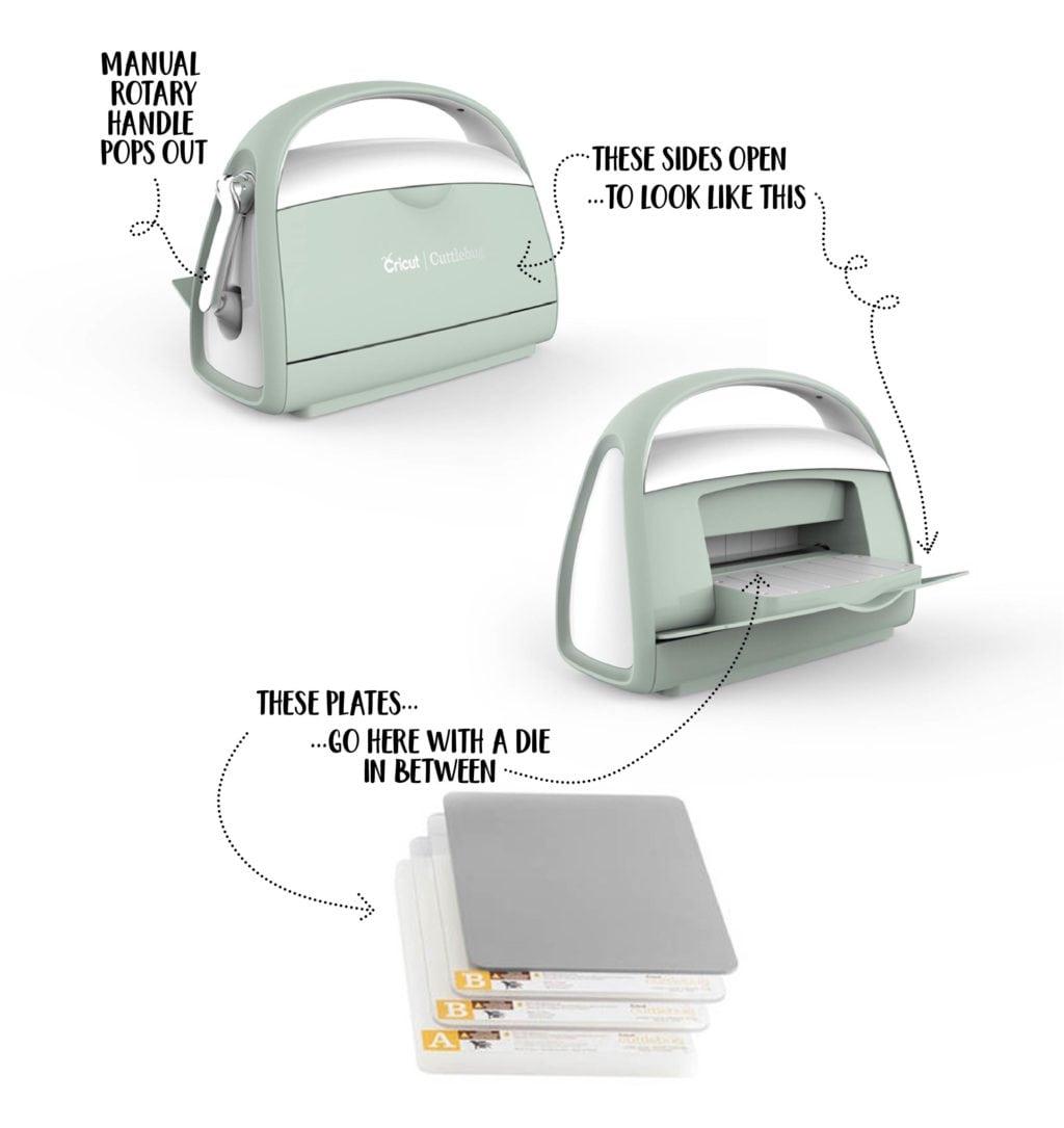 used cuttlebug machine