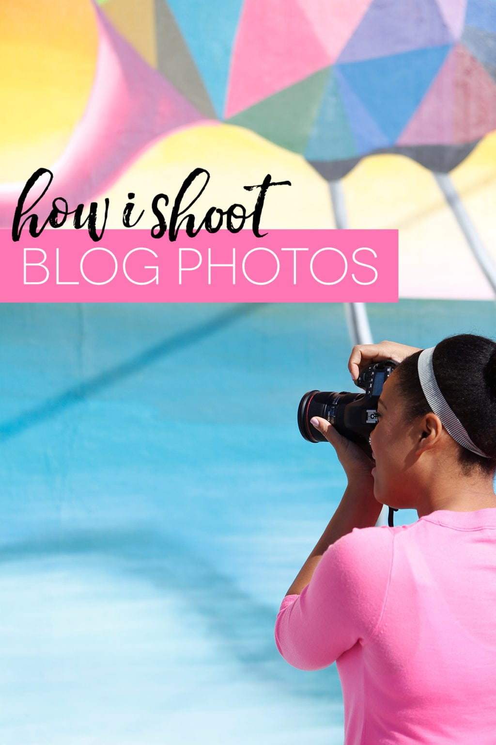 How I Shoot Blog Photos | damask love