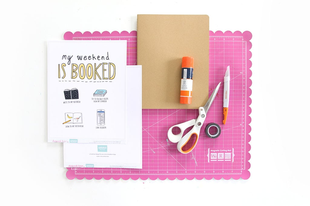 How to Cover a Notebook | damask love
