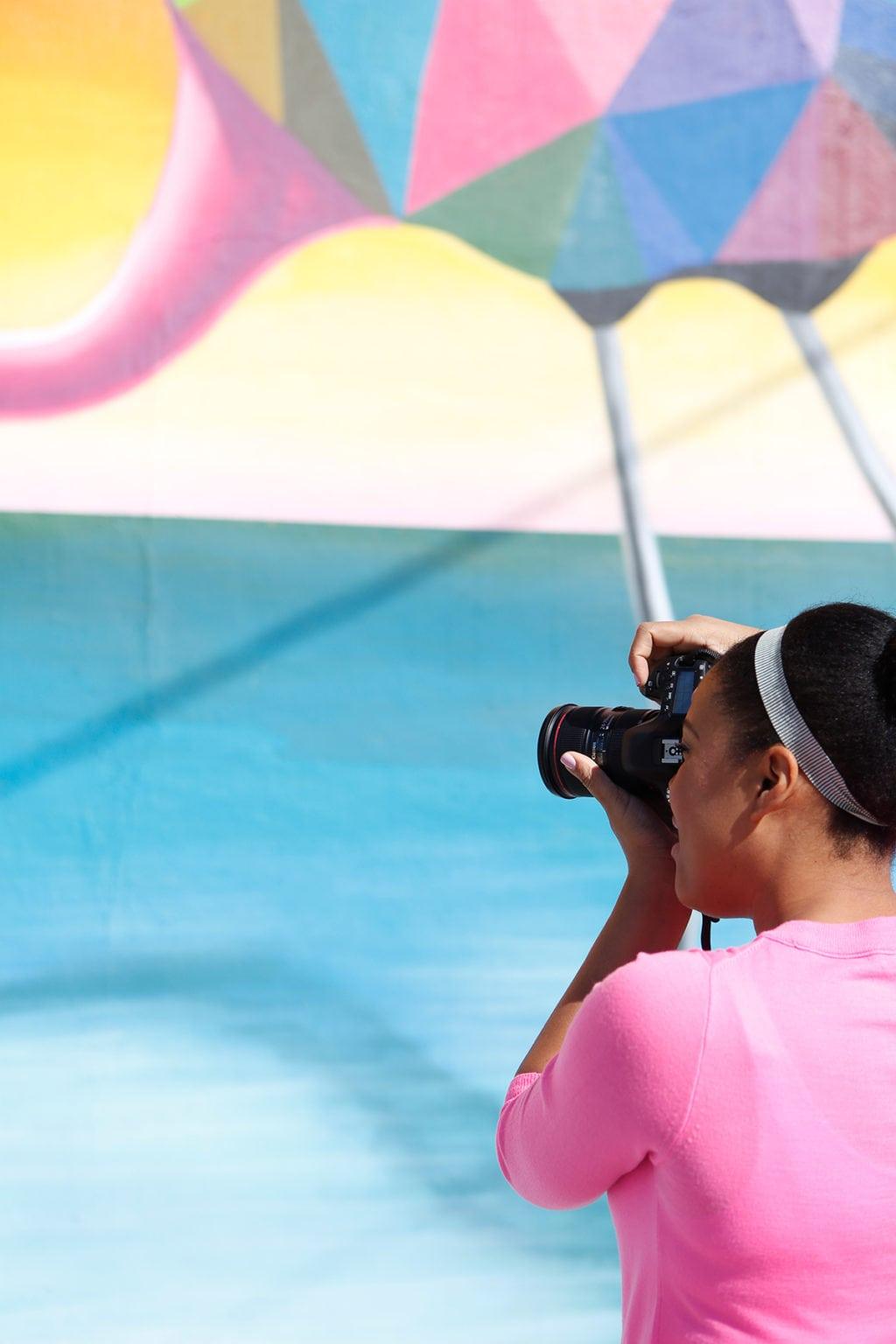 How I Shoot Blog Photos | damask love