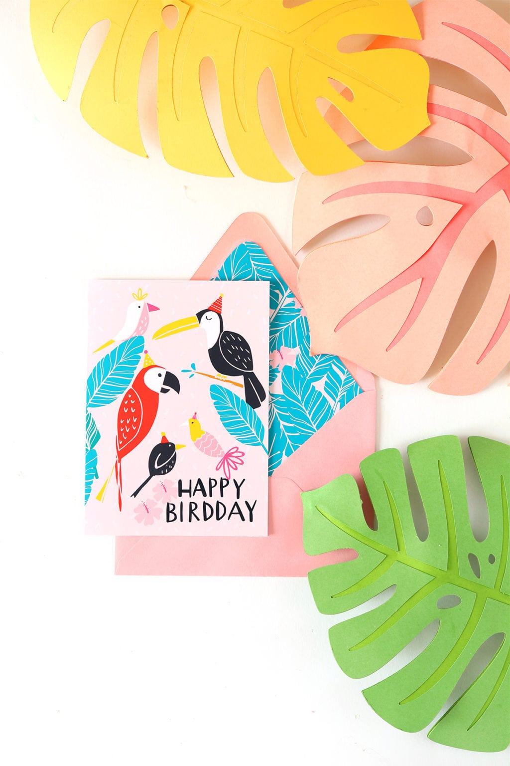 April Newsletter + Free Printable Birthday Card | damasklove