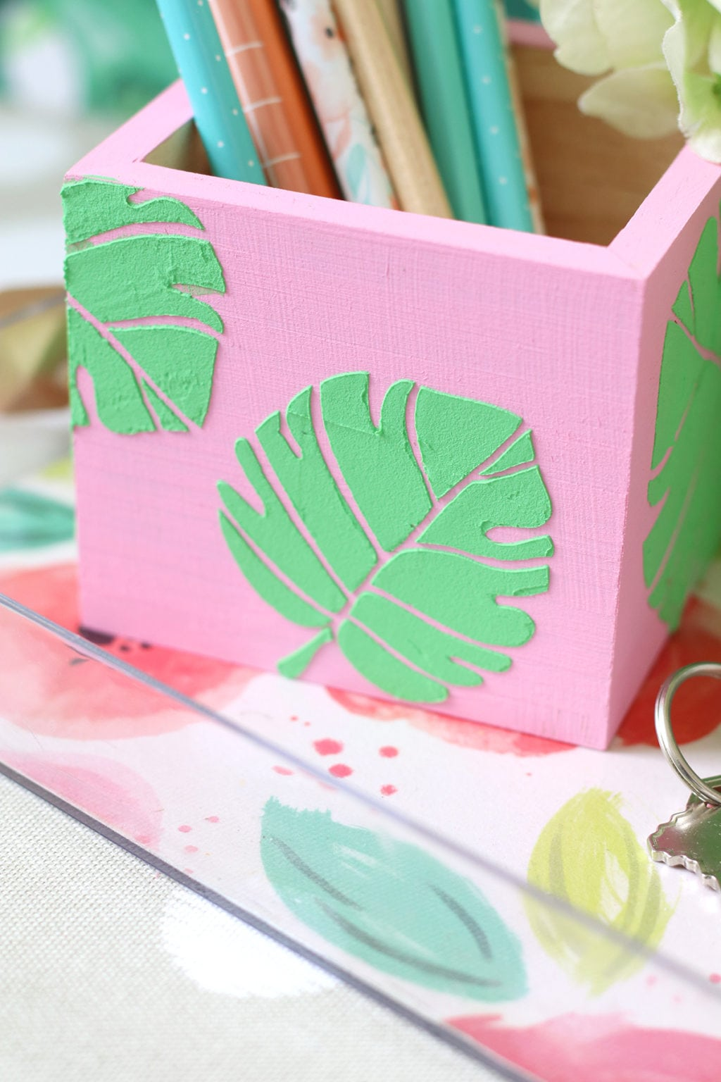 Embossing Paste Made Easy | damask love