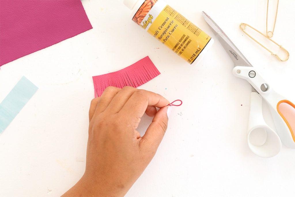 DIY Leather Tassel Flair   damask love