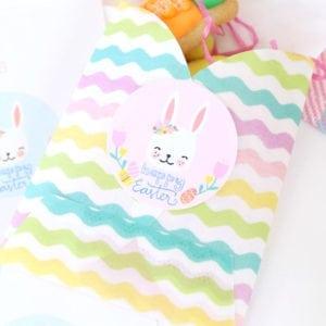 Free Printable Easter Spring Labels | damask love