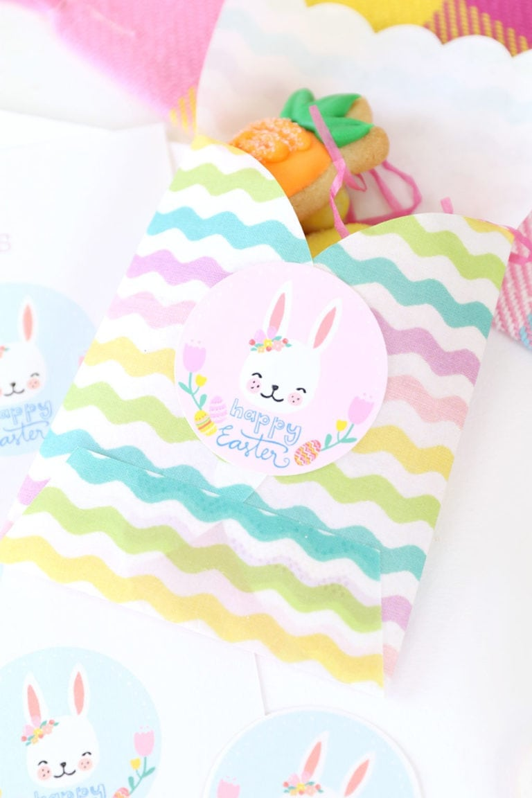 Printable Spring Easter Labels + A Canon Printer Giveaway