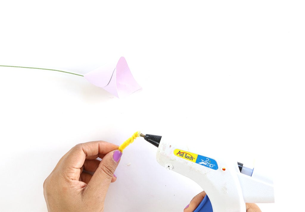 DiY Paper Calla Lilies for Mother's Day | damask love